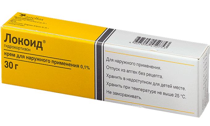 Кортеф можно заменить препаратом Локоид