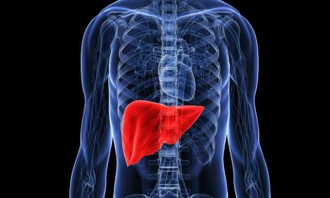Применение таблеток при печеночной недостаточности может спровоцировать повышение активности печеночных трансаминаз