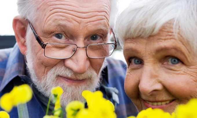 Преклонный возраст - одно из показаний к применению препарата