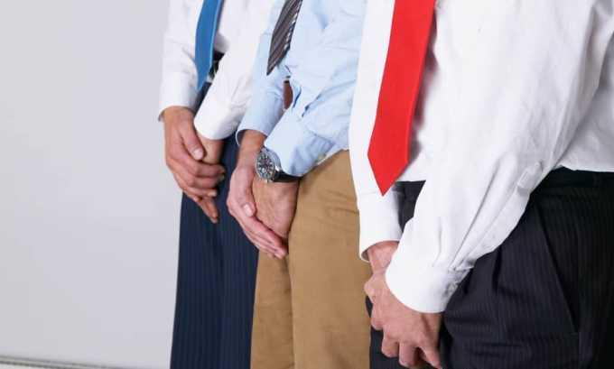 Частой причиной развития цистита у мужчин становится заболевание половой сферы: простатит, аденома