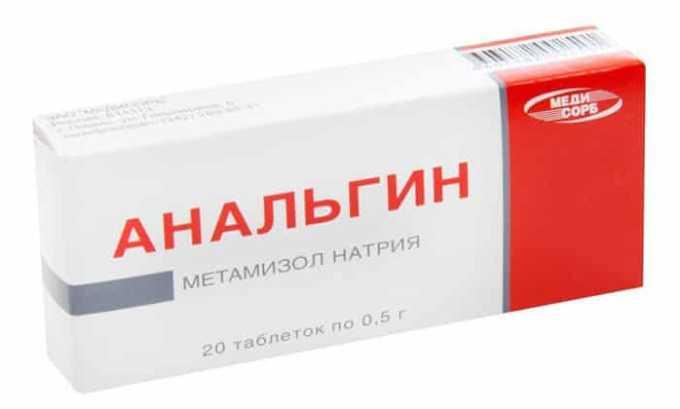Аналог препарата Анальгин