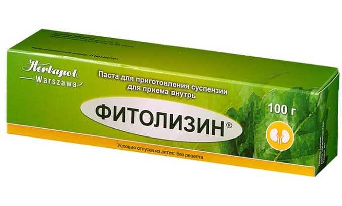 Фитолизин - препарат для лечения инфекционных заболеваний, сопровождающих мочекаменную болезнь