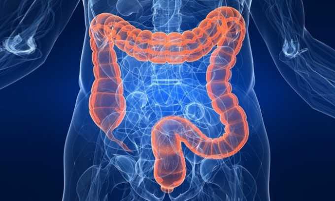 В инструкции по применению указано, что антибактериальное средство назначается при поражении кишечного канала