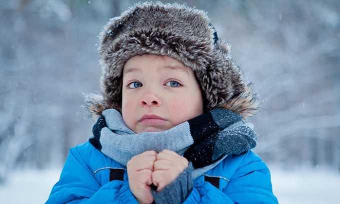 У некоторых деток частое мочеиспускание появляется из-за переохлаждения