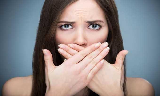Эналаприл НЛ может вызывать сухость во рту