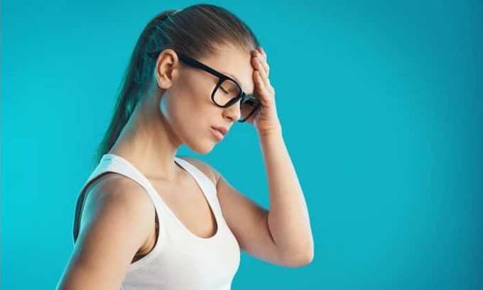 Препарат используют при головных болят