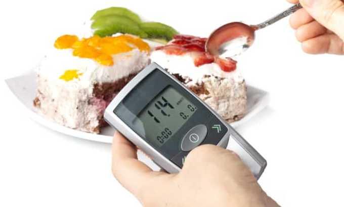Существует ограничение к приёму препарата при сахарном диабете