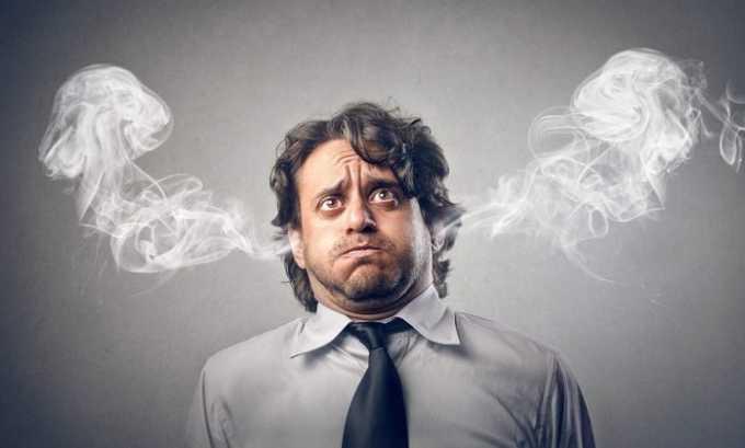 В случае длительного применения у человека может появляться нервозность