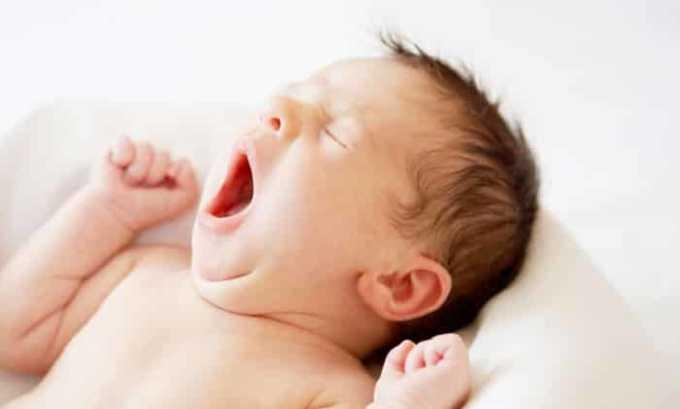 Лекарственное средство противопоказано детям младше 3 месяцев