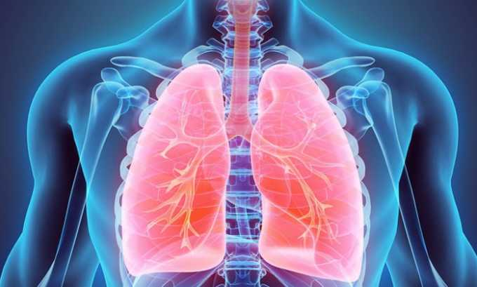 В инструкции по применению указано, что антибактериальное средство назначается при поражении дыхательных органов