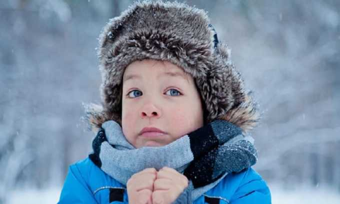 К циститу может привести переохлаждение ребенка