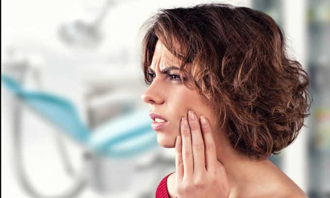 Кеторолак назначается при зубной боли
