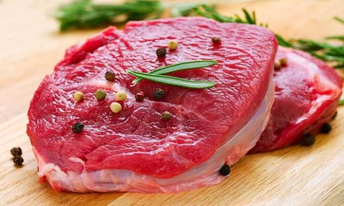 Аминокислота содержится в таких источниках пищи, как мясо