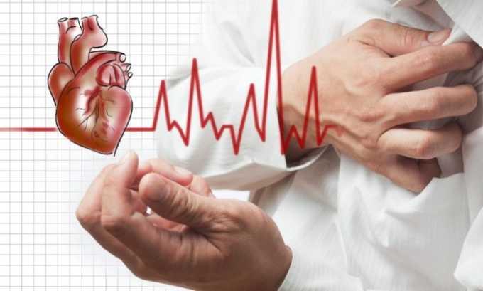 Применять средство для проведения терапии следует при артериальной гипертензии