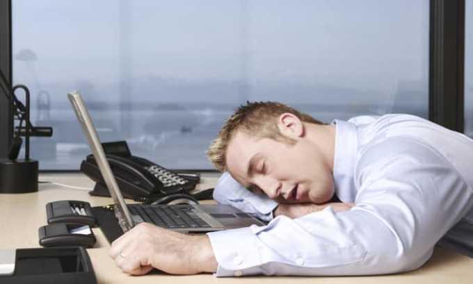 Также лекарство имеет побочный эффект в виде сонливости