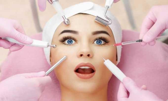 Найз назначается для снижения чувствительности при проведении косметологических процедур