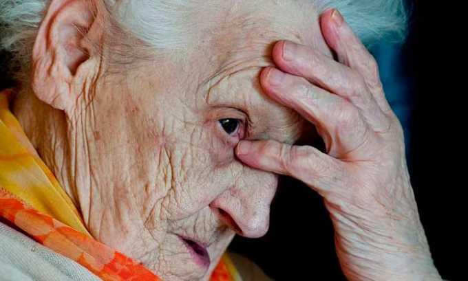 Средство назначается при ишемическом инсульте