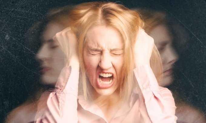 Со стороны нервной системы от передозировки препаратов наблюдается психоз