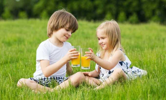 Принимать препарат детям до 12 лет запрещено