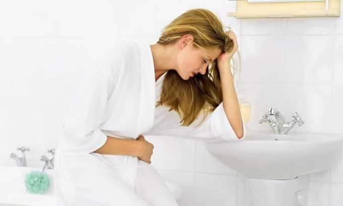 В некоторых случаях при приеме препарата могут возникать боли в животе, диарея и тошнота