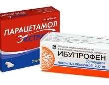 Совместимость Ибупрофена и Парацетамола