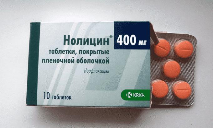 Компоненты антибиотика Нолицин всасываются быстро, а побочная симптоматика сведена к минимуму