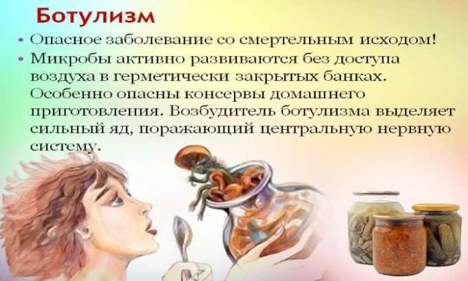 Антибиотик назначается при ботулизме