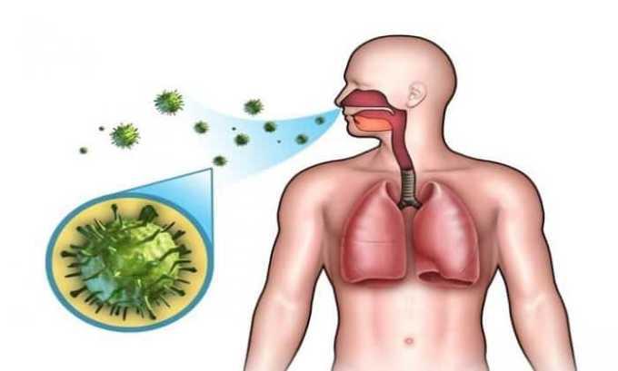 Препарат назначается пациентам при инфекции в нижних дыхательных путях