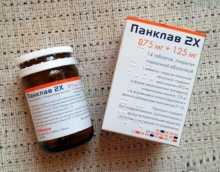 Действие препарата  Панклав при инфекциях мочевыводящих путей