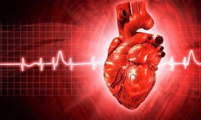 Препарат увеличивает выброс крови, повышает выносливость сердечной мышцы