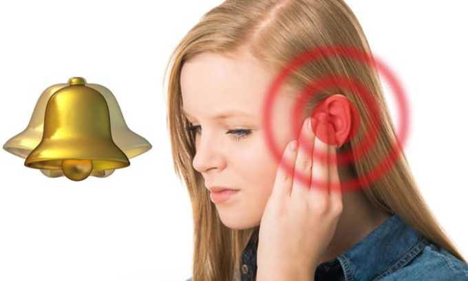 Лекарство может вызвать звон в ушах