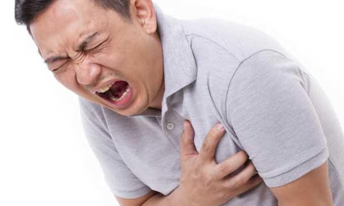 Медикамент применяют для профилактики развития инфаркта
