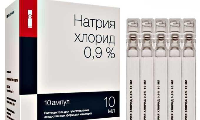 Вспомогательным веществом вакцины является натрия хлорид