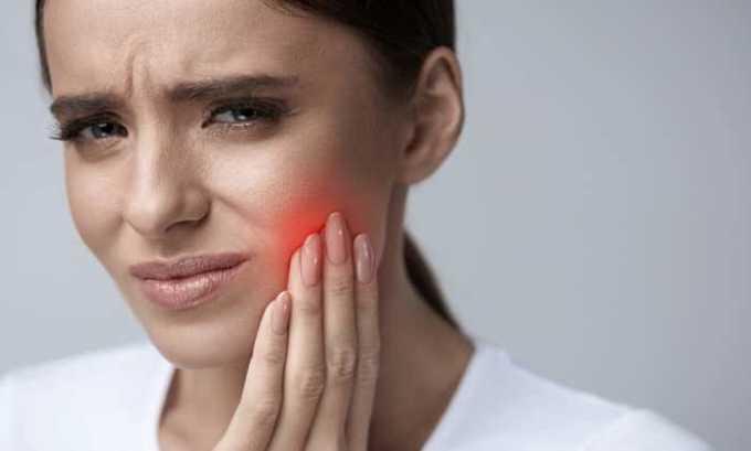 Во время болезненного чувства в зубах и деснах прописывают препарат Наклофен Дуо