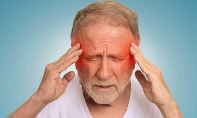 Прием средства является целесообразным при головной боли и мигрени