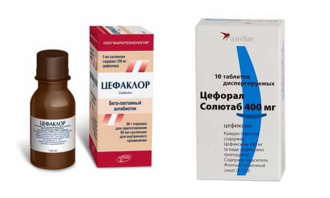 Цефаклор, Цефорал - препараты цефалоспоринового ряда, эффективные в отношении грамположительных и грамотрицательных микроорганизмов