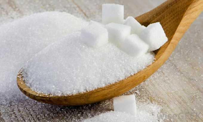 Составляя рацион диеты при хроническом цистите, необходимо избегать сахара