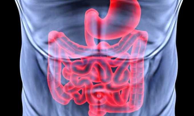 Препарат назначают при кишечных коликах