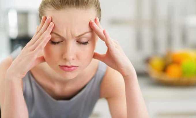 При приеме препарата может возникнуть побочный эффект в виде головной боли