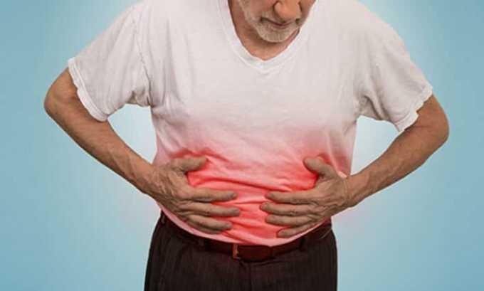 При передозировке могут появиться абдоминальные боли