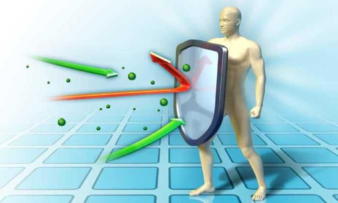 Препарат подавляет иммунитет, из-за чего организм пациента становится слабым и уязвимым