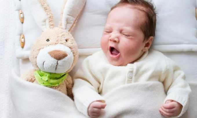 В отношении новорожденных введение средства возможно, но необходим тщательный врачебный контроль