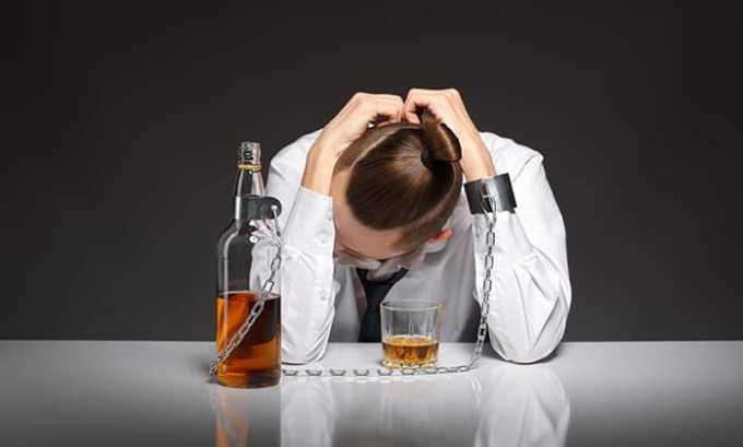 Крайне не желательно принимать Парацетамол 500 при хроническом алкоголизме