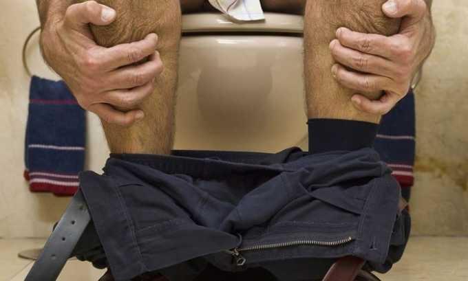 Диарея, или запор могут быть вызваны из-за терапии Сунитинибом