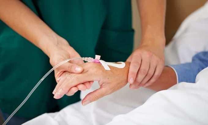 Осложнения после химиотерапии - одно из показаний к применению препарата