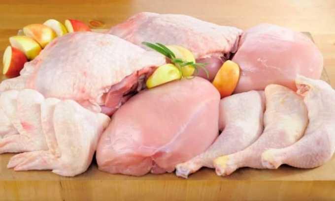 Аминокислота содержится в мясе индейки и курицы