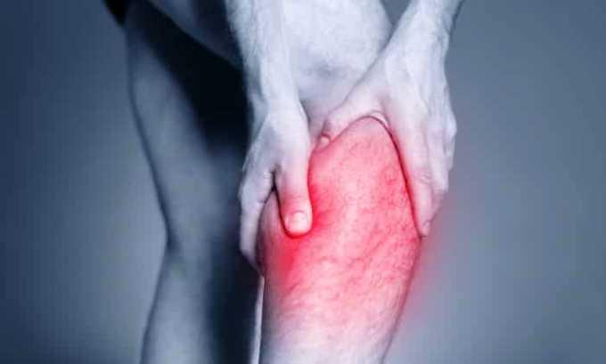 Гель применяют при воспалительных процессах в мышечных и соединительных тканях