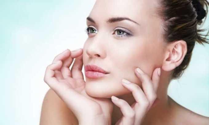 Препарат поддерживает красоту и здоровье кожи