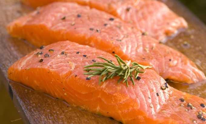 Гистидин содержится в лососе