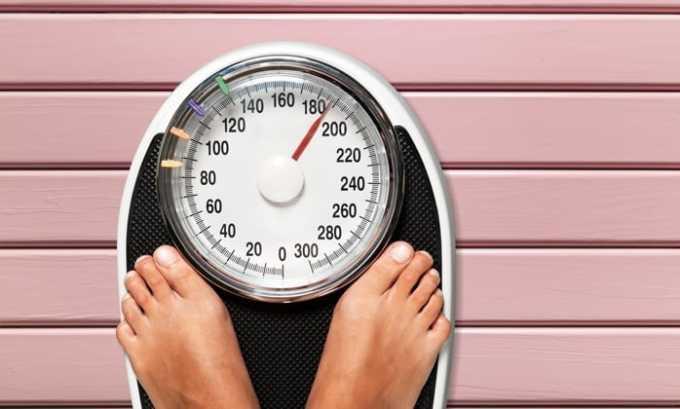 Препарат может вызвать изменения веса, похудение или ожирение